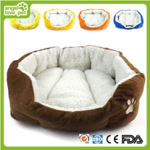 Large Dog Bed Dog Round Bed Plush Dog Bed pictures & photos