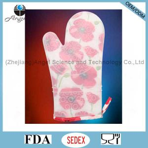 Hot Sale Long and Thick Silicone Glove for Cooking and Baking Sg22