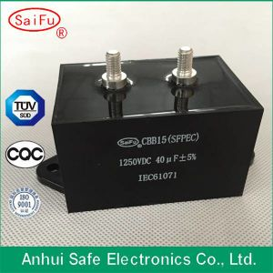 High Quality Cbb15 5UF Metallized Polypropylene Film Run Capacitor pictures & photos