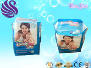 Super Absorbent Baby Nappies Baby Diapers pictures & photos