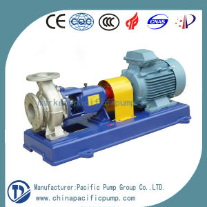 Ih End-Suction Centrifugal Chemical Pump with Open Impeller