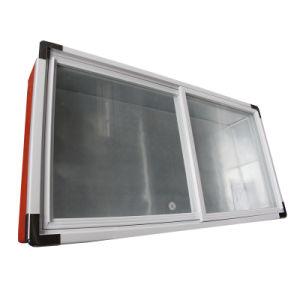 Single Temperature Bevel Glass Door Seafood Freezer pictures & photos