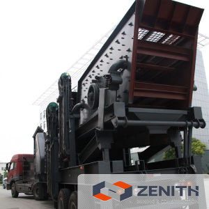 Hot Sale High Quality Mobile Aggregate Vibrating Screen pictures & photos