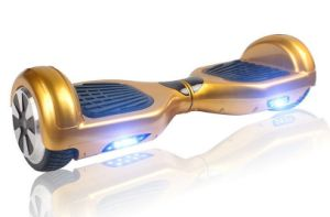 Cool Two Wheel Golden Self Balacing Drift Board of The Most Classic Design