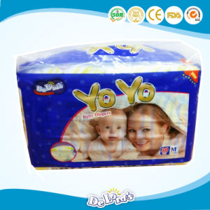 Full Surround Elastic Waist Baby Diaper pictures & photos