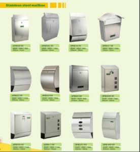 European Home Design Wall Mount Stainless Steel Mailboxes pictures & photos