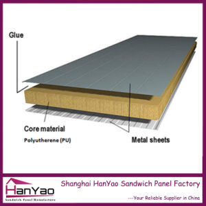 China three layers quality thermal insulated polyurethane for Panel sandwich tenerife