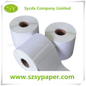 Thermal Barcode Adhesive Label Thermal Label Roll pictures & photos
