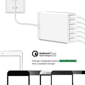 60 Watt 6 Port USB Desktop Rapid Charger pictures & photos