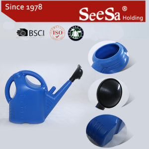 5L Plastic Garden Household Water Pot Watering Can pictures & photos