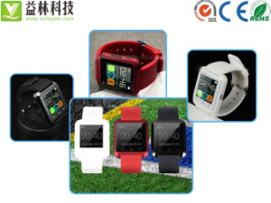 2015 New Watch Mobile Phone with Alarm Clock