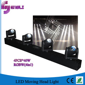 Professional 4*40W Mini LED Moving Head Beam for Stage (HL-018BM) pictures & photos