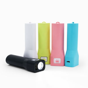 Cheap Christmas Promotional Gifts Flashlight Mobile Power Bank Charger (PB-YD49) pictures & photos