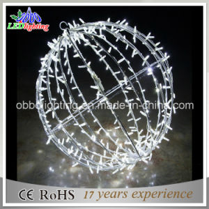 Christmas Decorative White Ball String Light LED Holiday Lighting pictures & photos