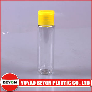 30ml Transparent Round Plastic Pet Bottle with Flip Top Cap pictures & photos