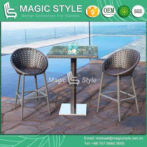 Wing Bar Set New Design Bar Set Club Set Patio Furniture Garden Furniture Rattan Bar Chair Wicker Bar Table Outdoor Club Furniture pictures & photos