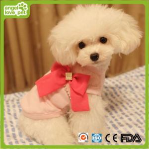 Fashion Three Colour Big Bowknot Jumpsuits Pet Dog Clothes pictures & photos