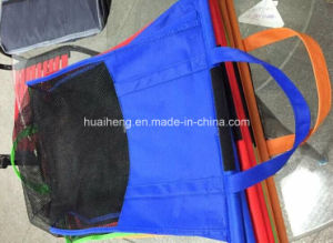 Handled Style and Non-Woven Material Trolley Bags Supermarket pictures & photos