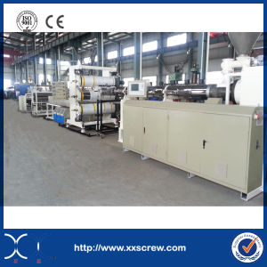 Automatic High Output Plastic PVC Sheet Machine-Transparent Plastic Sheet Making Machine pictures & photos