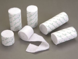 Medical Orthopedic Plaster Cast Padding Wool Bandage pictures & photos