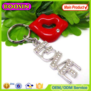 Guangzhou Exported Brand Name Custom Keychain Maker Metal Keychain for Sale #14518 pictures & photos