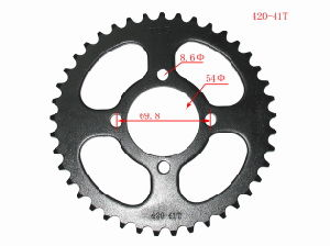 Yog Motorcylcle Parts Motorcycle Rear Sprocket C70 C70c CD70 420-36t/37t/38t/39t/40t/41t42t pictures & photos