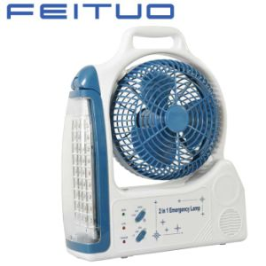 Fan, Rechargeable Fan, Emergency Fan, Emergency Light, 1618-6c pictures & photos