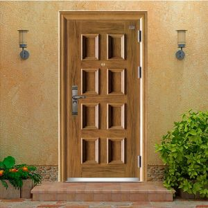 High Quality Steel Security Door pictures & photos