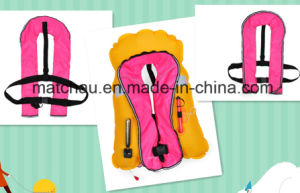 Kids Using Single Air Chamble Inflatable Lifejackets pictures & photos