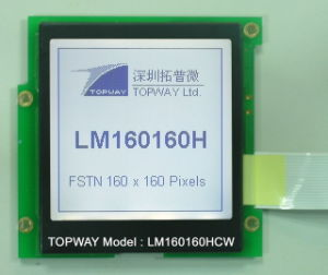 160X160 Graphic LCD Module Cog Type LCD Display (LM160160) with High Contrast pictures & photos