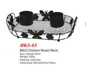 New Design BBQ Chicken Roast Rack pictures & photos