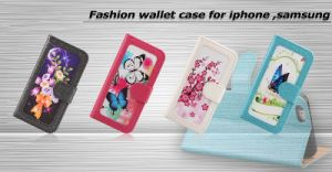 for iPhone 6 Wallet Case, Wholesale Flip Leather Case for iPhone 6 Plus