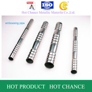 SUS 201 Stainless Steel Embossy Pipe pictures & photos