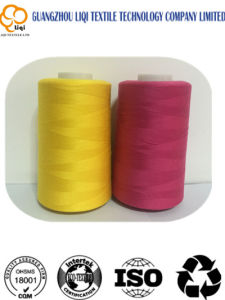 High-Quality Spun Thread 100% Polyester Textile Fabric Sewing Thread 50s/2 pictures & photos