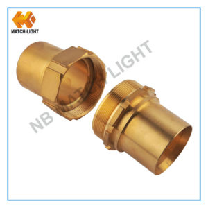 "Male N. P. T 1/4"" Brass Air Hose Fittings for Garden Hose pictures & photos"