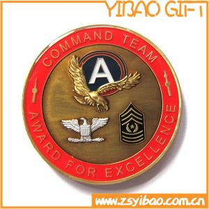High Quality Metal Navy Coin with Gold Plating (YB-c-035) pictures & photos