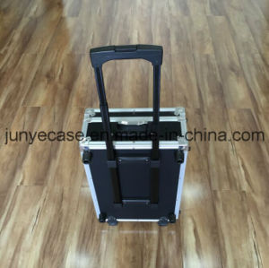 Aluminum Case with Wheels and Telescopic Handle pictures & photos