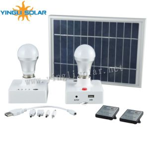 3W Solar LED Lantern, Solar Emergency Lamps, with 5m Cable, Could Charge Your Mobile Phone pictures & photos