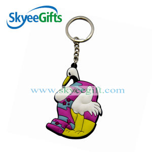 Guangzhou Injection Rubber PVC 3D Keychain Cheap Logo Custom Made Keychains pictures & photos