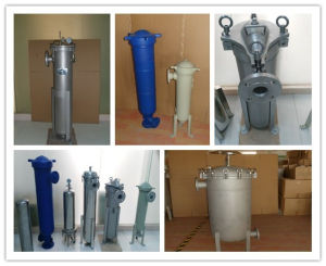 Stainless Steel Bag Filter Housing for Water Treatment pictures & photos