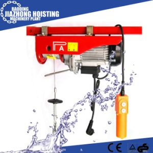 220V Mini Wire Rope Electric Hoist 100kg-1000kg pictures & photos