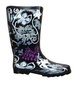Ladies Fashion Rubber Rain Boot pictures & photos