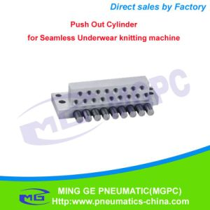 Textile Knitting Machine Parts Pneumatic Push out Cylinder