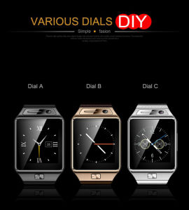 New Bluetooth Smart Watch Gv08s for Android Phone Samsung HTC SIM Card Camera pictures & photos