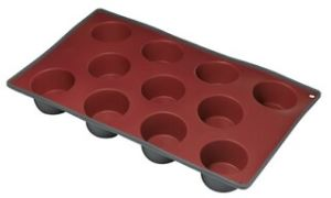 Two Color Silicone 11 Cup Deep Muffin Pan & Cake Mould &Bakeware FDA/LFGB (SY1904) pictures & photos