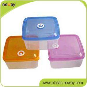 Cheap Custom Plastic Crisper Fresh Round Food Container pictures & photos