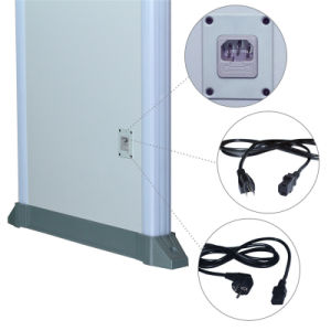 18 Zones Double Infrared Mode Metal Detector Gate for Bank Security pictures & photos