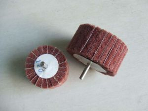 Non-Woven Abrasives Mounted Flap Wheels pictures & photos