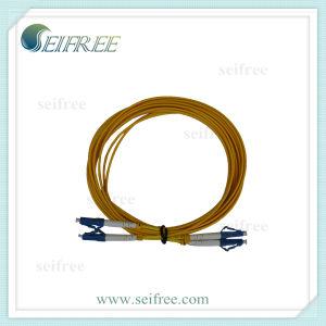 Duplex Single-Mode LC Fiber Optic Cable (ONU GEPON FTTH CATV) pictures & photos