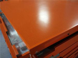 Orange Color Perforated Aluminium Honeycomb Ceilings pictures & photos
